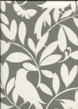 Waverly Cottage Wallpaper Birdsong 325927 By Rasch Textil For Brian Yates
